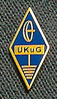 UK Microwave Group Lapel Badge